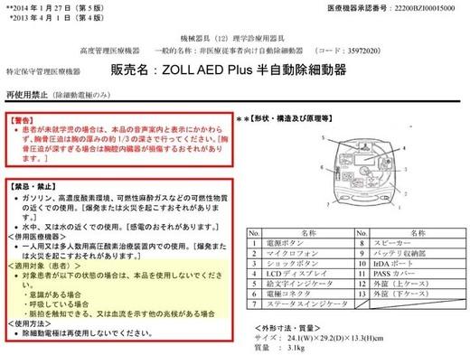 AEDの添付文書には生きている人に装着してはいけないとはっきり書かれている。