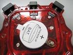 AHAストップウォッチの消音改造:ウラ蓋を外す
